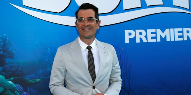 Ty Burrell voices a neurotic Beluga whale in 'Finding Dory'.