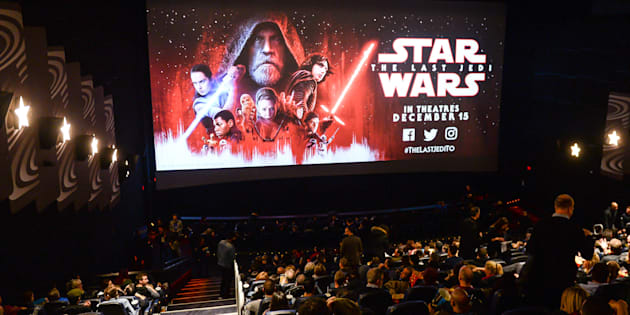 "The Canadian premiere of ""Star Wars: The Last Jedi"" was held in Toronto on Dec. 13, 2017."