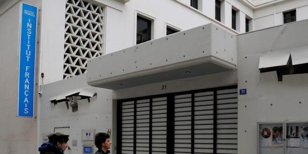 Contre l'Institut français d'Athènes, l'attaque de l'absurde. REUTERS/Michalis Karagiannis