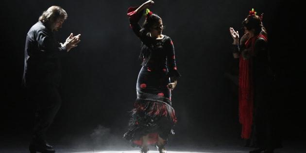 Des danseurs de flamenco.