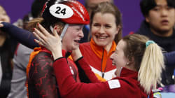 Kim Boutin remporte le bronze au 500