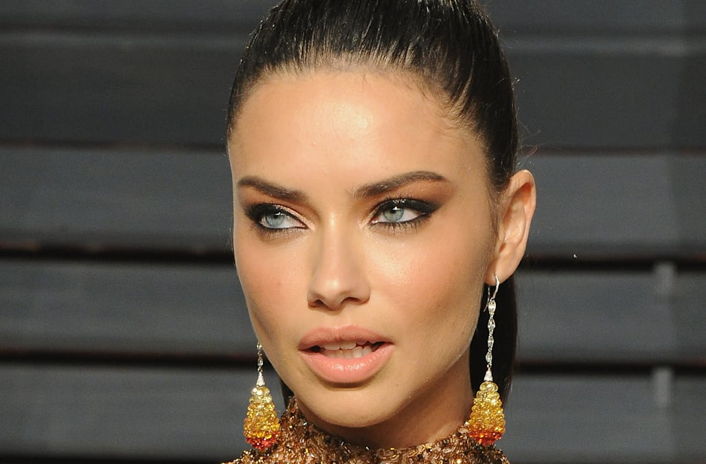 7a8619d9962d2 Adriana Lima posts cleavage-baring photos after split from New ...