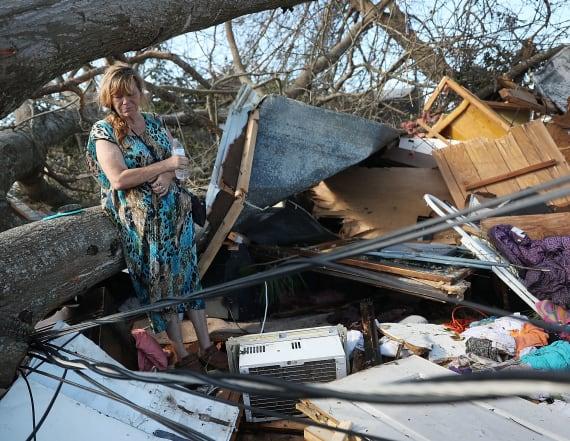 Photos show devastation in Fla. by Hurricane Michael
