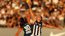 Gates Closed As Huge Crowd Watches Historic First AFL Women's