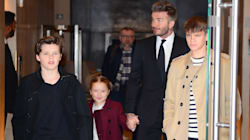 La famille Beckham se démarque à New
