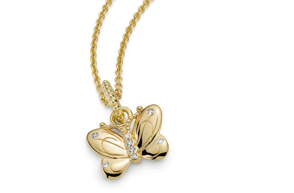 4cd7269fc Pandora's newest jewelry line is garden-inspired and filled with butterflies