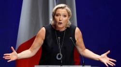 Le Pen associe marche contre les violences sexistes et