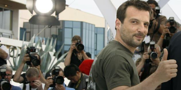 Le réalisateur et acteur Matthieu Kassovitz à Cannes.