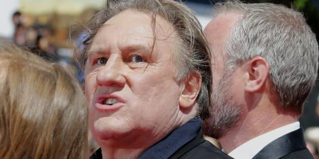 Gérard Depardieu n'a pas apprécié d'être aperçu à Pyongyang avant le 70e anniversaire du régime nord-coréen.