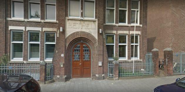 Captura de Google Maps de la iglesia.