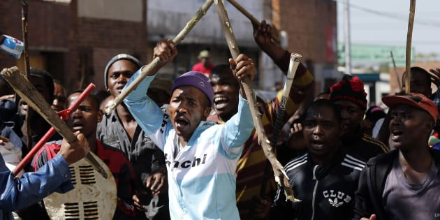 Service delivery protests in Johannesburg: a happiness survey notes that South Africans would trade democracy for reliable service delivery.