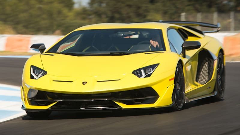Lamborghini Aventador SVJ First Drive Review