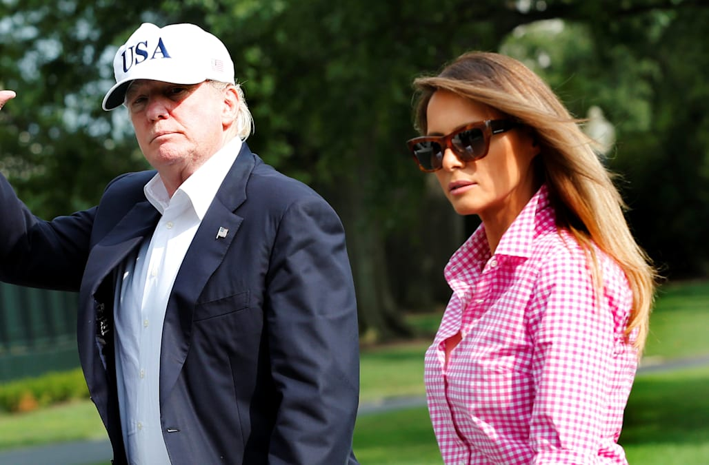 President Trump, Melania Trump To Host Cabinet Members, Spouses Over  Hurricane Weekend