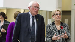 Wynne Takes Sanders On Hospital Tour To 'Show Off' Canadian Health
