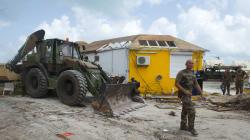 Les secours dépêchés après l'ouragan Irma mis à l'honneur ce 14
