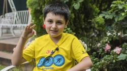 ¡Sí se puede!: Carlos Antonio tiene 12 años y cursará una licenciatura en la