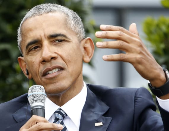 Did Obama just throw shade at Donald Trump?