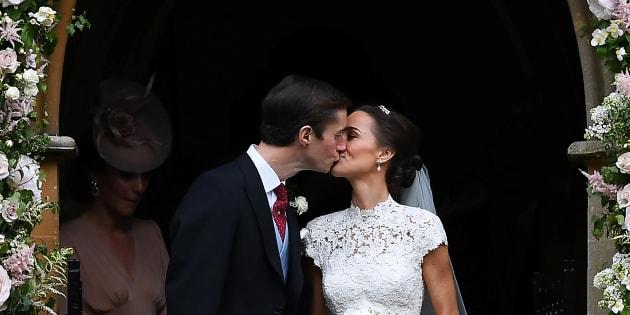 Pippa Middleton si sposa: le foto della cerimonia