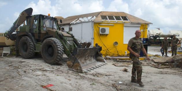 Défilé du 14 Juillet: dix mois après l'ouragan Irma, les secours mis à l'honneur