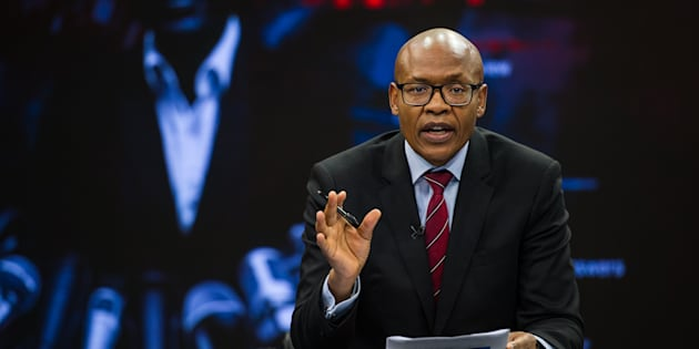 The New Age and ANN7 proprietor Mzwanele Manyi during the announcement on the shareholding of his company Lodidox on August 30, 2017, in Johannesburg, South Africa.