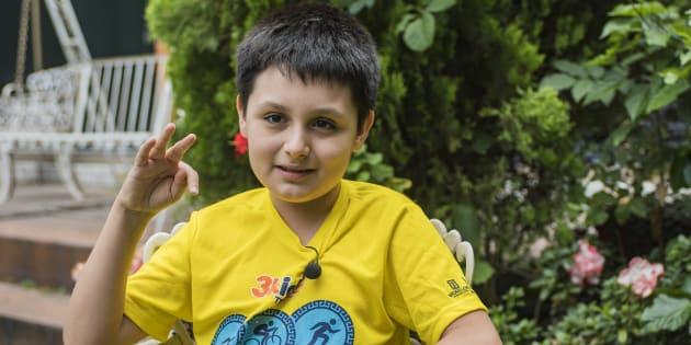 Con 12 años, Carlos Antonio cursará una licenciatura en la UNAM