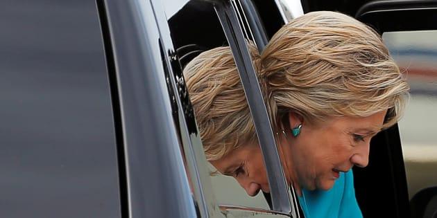 Hillary Clinton à Philadelphie le 6 novembre 2016.