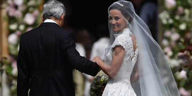 Robe soiree kate mariage harry