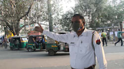 Man Poses As Delhi Traffic Cop To Earn A Quick Buck, Gets Busted By Real