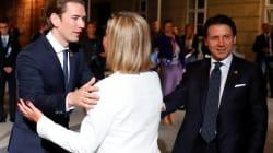 Tenaglia europea per l'Italia a Salisburgo: alla cena dei leader nessuna apertura sulla revisione della missione Sophia (dall...