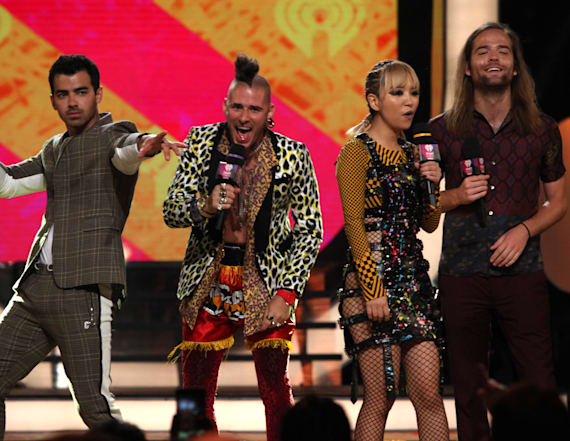 DNCE on performing with Bonnie Tyler
