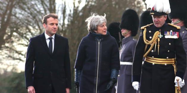 Sommet franco-britannique: La défense, ciment de l'entente cordiale entre Macron et May