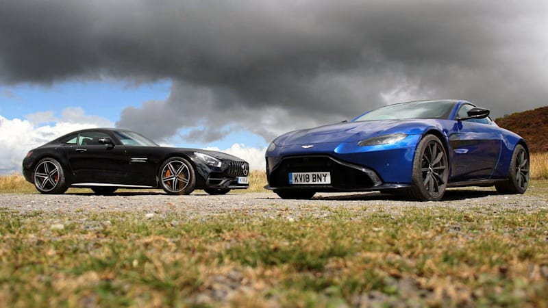 Aston Martin Vantage And MercedesAMG GT C Shared Engine Comparison - Aston martin gt