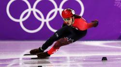 Samuel Girard termine au quatrième rang du 500 m en patinage de vitesse courte