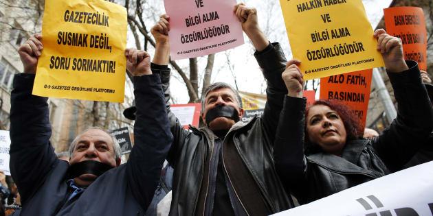 """Loup Bureau libéré, la Turquie reste """"la plus grande prison du monde"""" pour les journalistes"""