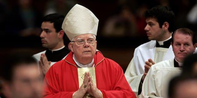 """Mort de Bernard Law, le cardinal américain au centre du scandale pédophile """"Spotlight"""""""