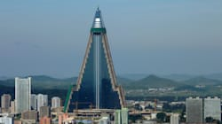 North Korea's Evil-Looking Hotel Has A Brighter