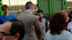 El polémico gesto de un joven con Felipe VI en Mallorca: