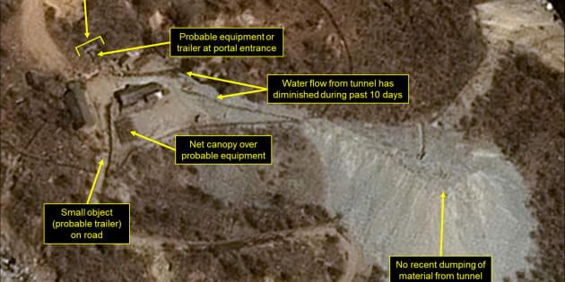 Et si la montagne où ont lieu les essais nucléaires de la Corée du Nord implosait ?