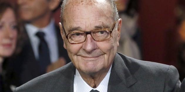 Chirac a offert en cadeau un bronze à Macron