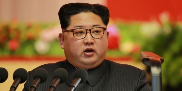 Kim Jong Un, líder de Corea del Norte en Pyongyang.  GETTY