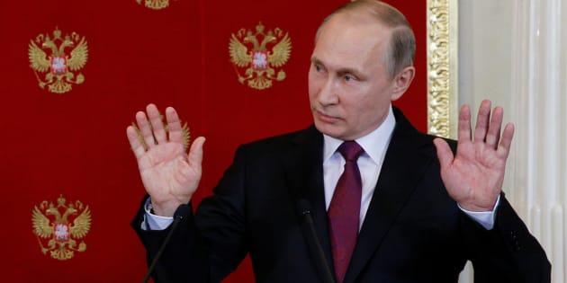 """Pour Poutine, les relations russo-américaines se sont """"dégradées"""" depuis l'arrivée de Trump"""