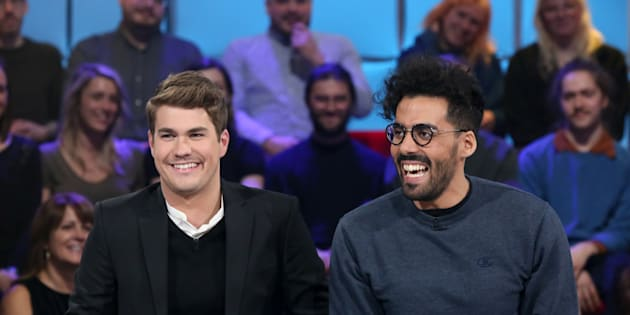 Julien Lacroix et Adib Alkhalidey