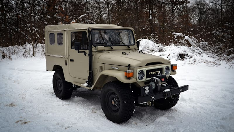 FJ Company Toyota Land Cruiser Drivers' Notes | The king of cool