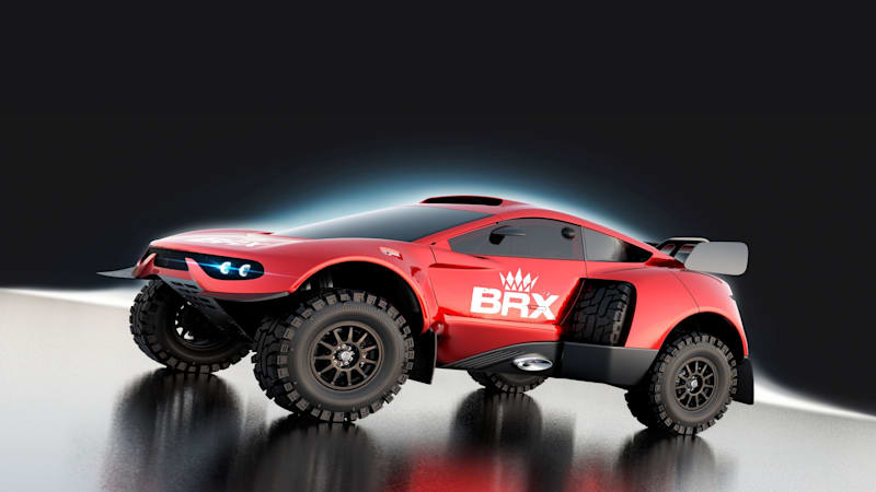 BRX unveils the Hunter off-roader it will enter in the 2022 Dakar Rally