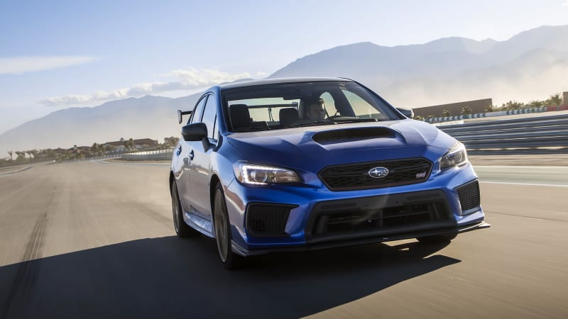 Since It Arrived In The Us Subaru Wrx Sti Has Hovered Around 300 Horse That Was World Cl Early 2000s But 2018 Model S 2 5 Liter