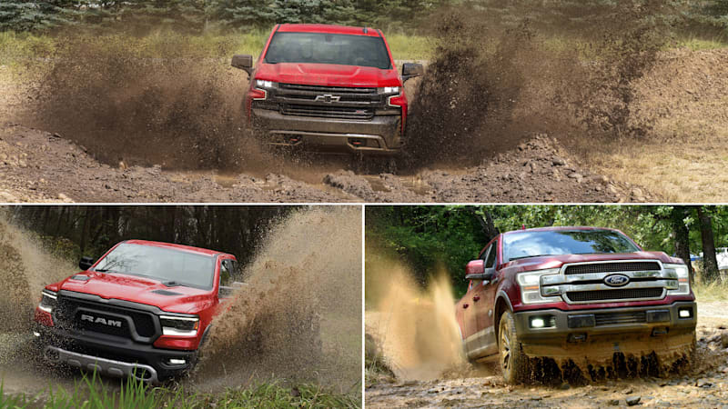 Comparison 2018 Ford F 150 Vs 2019 Ram 1500 Vs 2019 Chevrolet