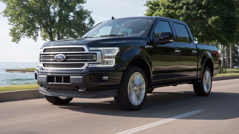 2019 ford f 150 limited gets 450 hp ecoboost v6 option autoblog. Black Bedroom Furniture Sets. Home Design Ideas