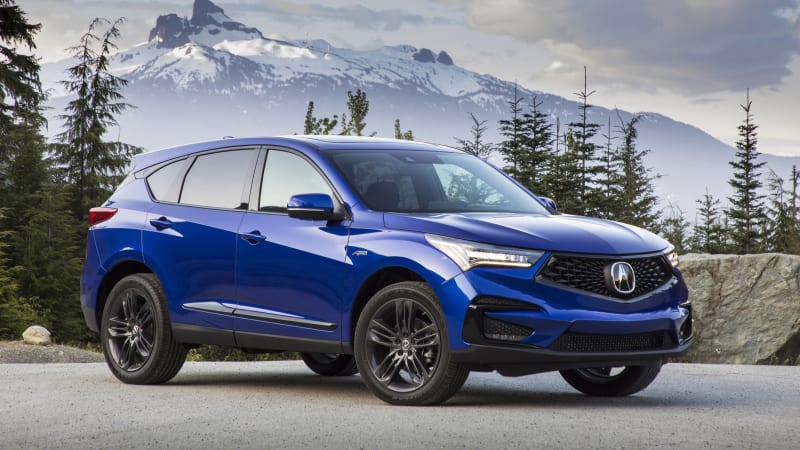 2019 Acura RDX undercuts rivals with base price of $38,295