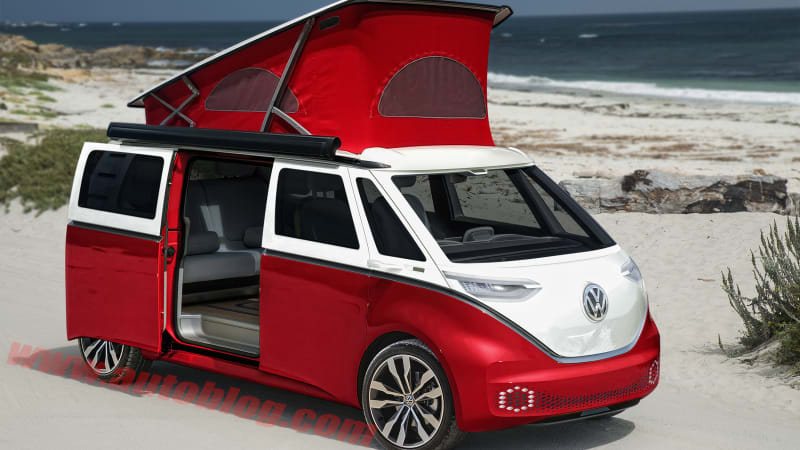 Vw Bus 2018 Interior >> These VW I.D. Buzz renderings make the minivan cool again - Autoblog