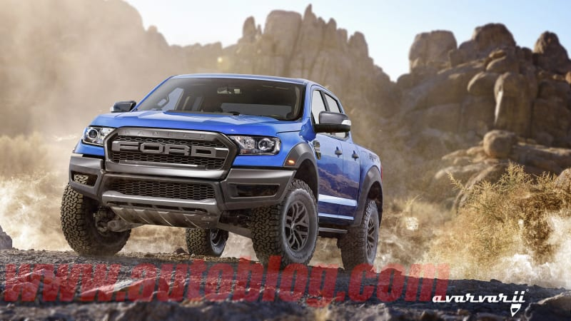 The Ford Ranger Raptor is real, and this is what it might look like